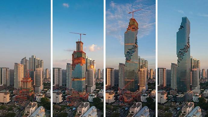 Gedung Tertinggi di Thailand Ini Sudah Jadi atau Belum Ya?