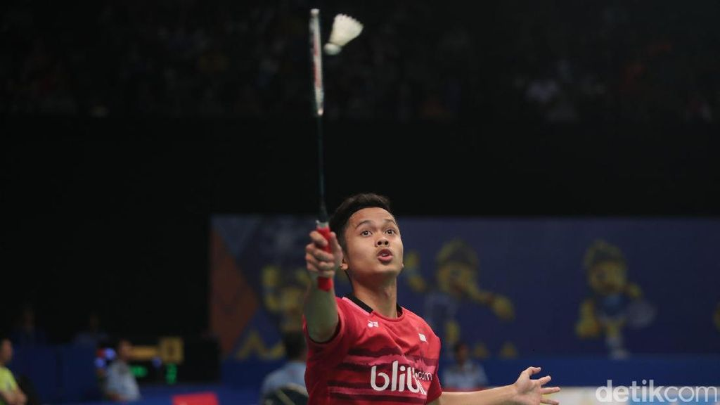 Menangi Perang Saudara, Anthony Juara Korea Open