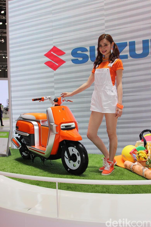 Motor Listrik, Suzuki Lihat Tetangga Dulu