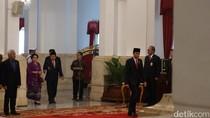 Ada Megawati hingga Lulung Saat Pelantikan Djarot di Istana