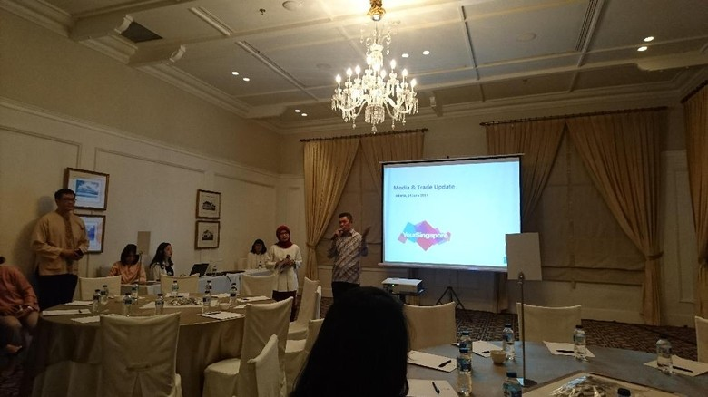 Area Director Indonesia, Singapore Tourism Board (STB), Raymond Lim (Masaul/detikTravel)