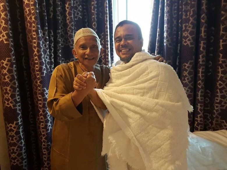 Bertemu di Saudi, Habib Rizieq dan Amien Rais Kompak Saling Dukung