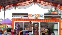 Sandiaga Buka OK OCE Mart Kedua di Muara Angke Jakut