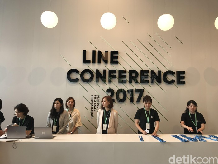 Line Conference memasuki tahun keempat penyelenggaraannya. (Foto: detikINET/Adi Fida Rahman)