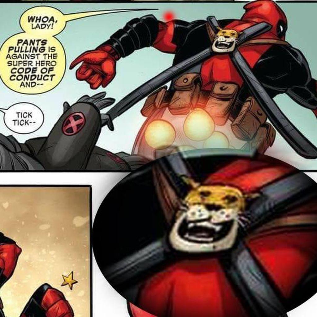 Marvel Tak Masalah Ario Anindito Gambar Macan Cisewu di Komik