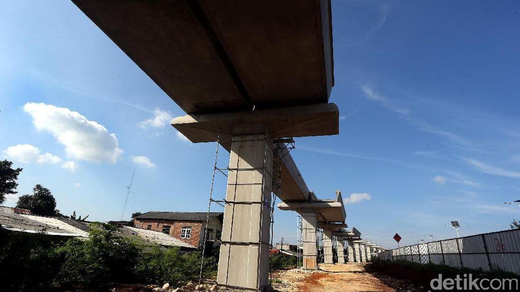Pemerintah Suntik KAI Rp 3,6 T Buat Bangun LRT Jabodebek