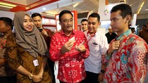 Usai Buka Acara, Djarot Sambangi Booth Bank DKI di PRJ