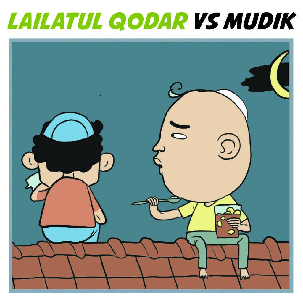 Lailatul Qodar vs Mudik