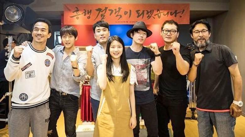 Main di Swordsman, Joe Taslim Kumpul Bareng Jang Hyuk dan Minhyuk BTOB