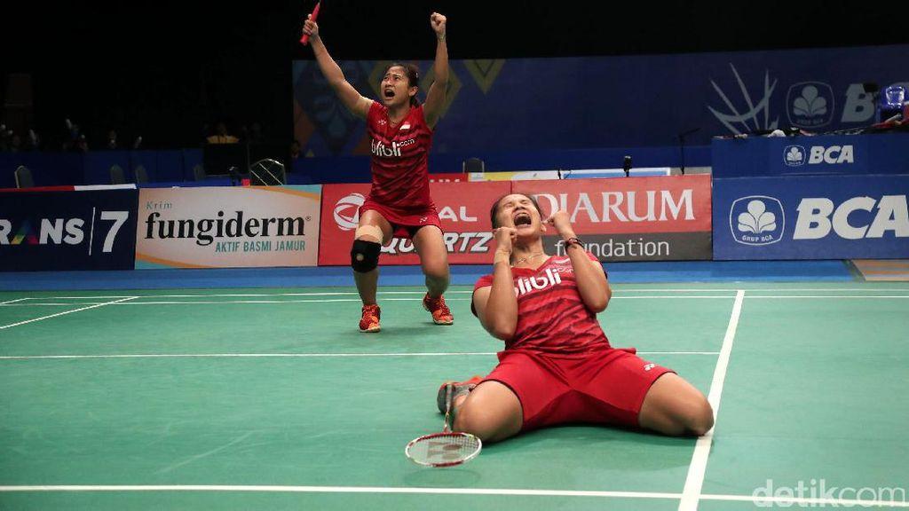 Anggia/Ketut ke Perempatfinal Indonesia Open 2017