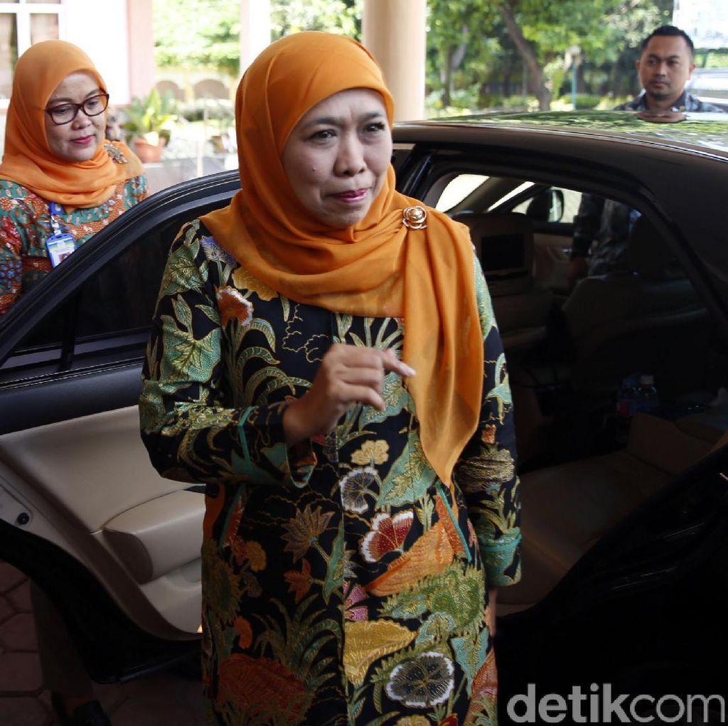 Mensos Khofifah Menghadap Presiden Jokowi, Bahas Pilkada Jatim?