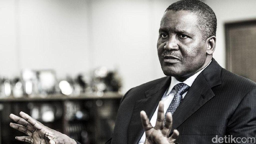 Orang Terkaya Afrika Sudah Sumbang Harta Rp 1,3 Triliun