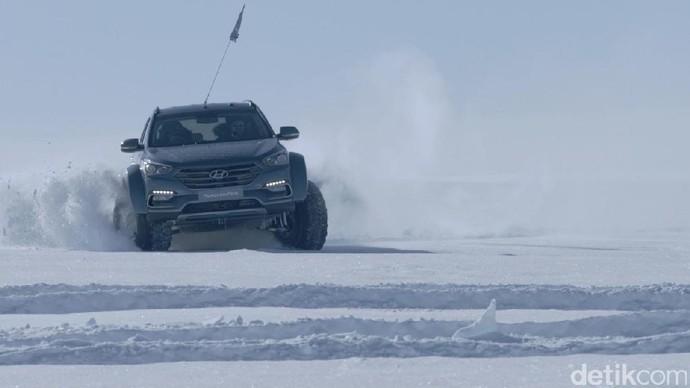 Mobil Ini Cocok untuk di Benua Antartika