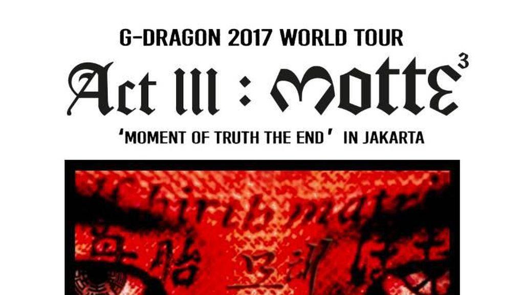 Whats Up Jakarta! G-Dragon Sapa Penggemar Jelang Konser di Indonesia