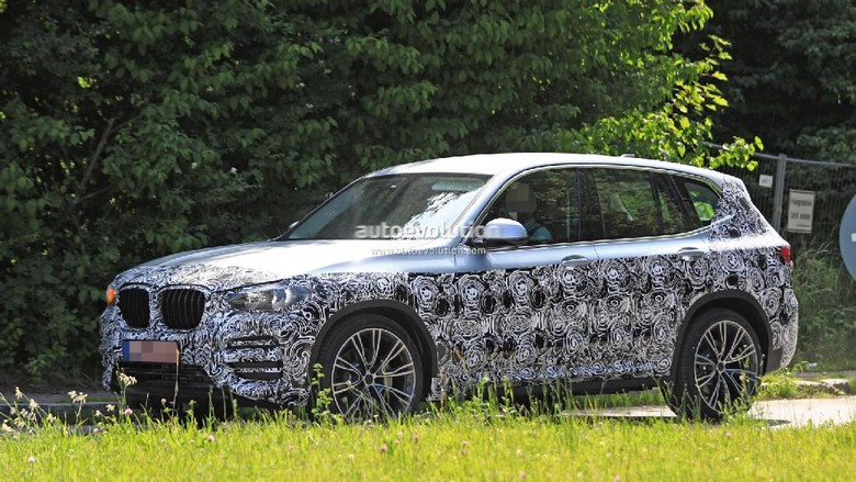 Nah, Akhirnya BMW X3Terbaru Tertangkap Kamera
