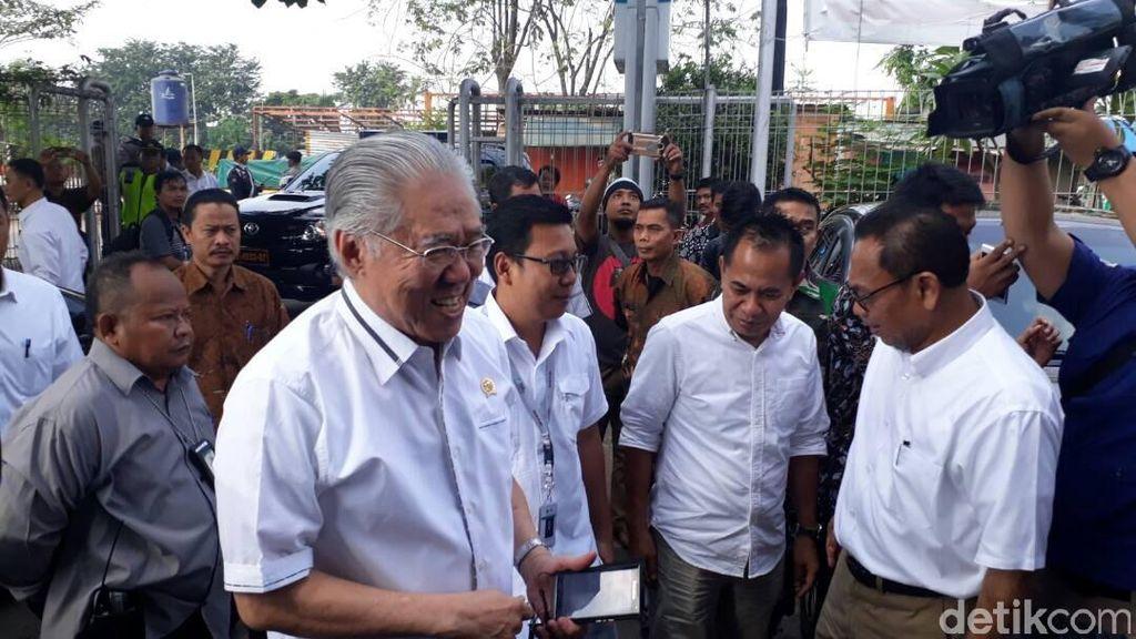 Sepekan Jelang Lebaran, Dua Menteri Tinjau Pasar hingga Rumah Potong