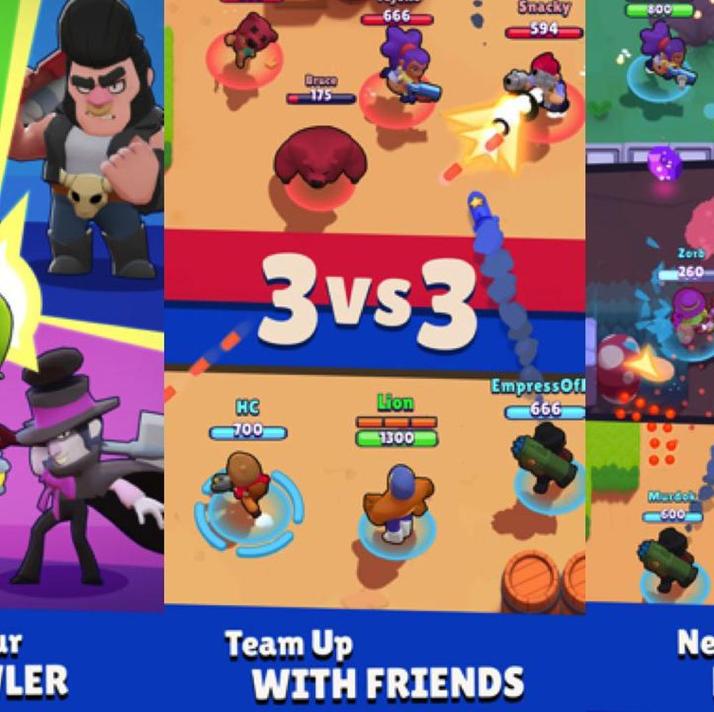 Supercell Garap Game Multiplayer Brawl Stars