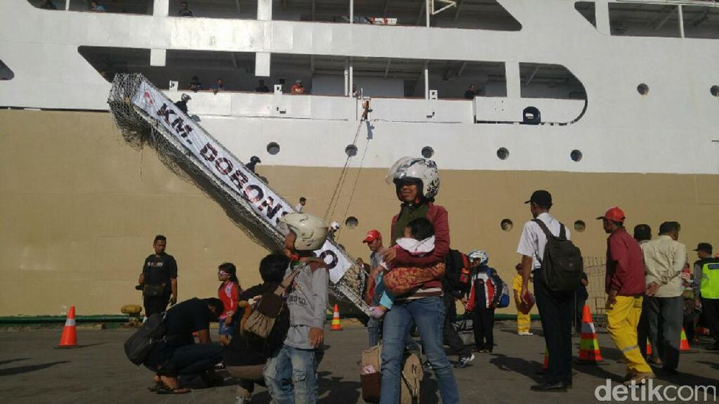 Dibuka! Pendaftaran Arus Balik Kapal Laut Gratis agar Tak Naik Motor