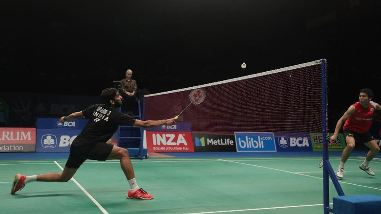Kidambi Srikanth Juara Tunggal Putra di Indonesia Open 2017