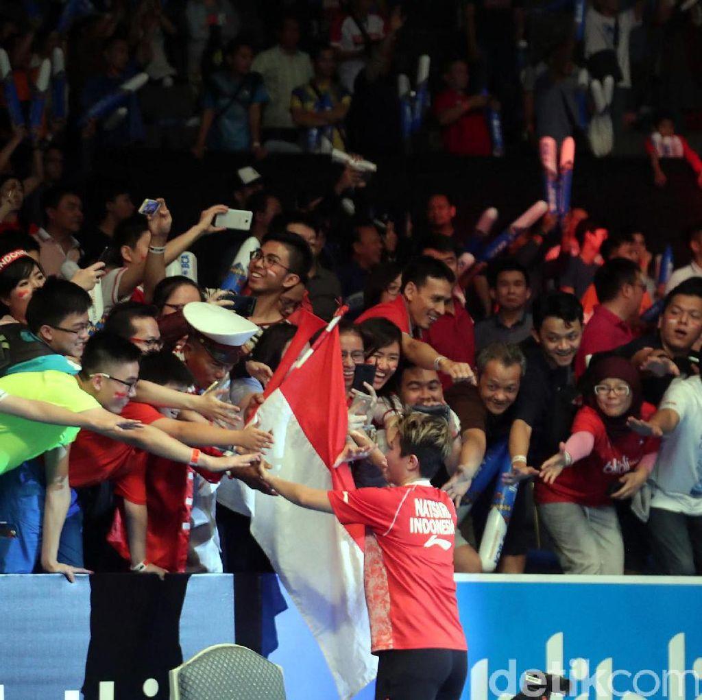 Ganggu Boe, tapi Berisiknya Suporter Indonesia Open Juara di Hati Pemain Ini
