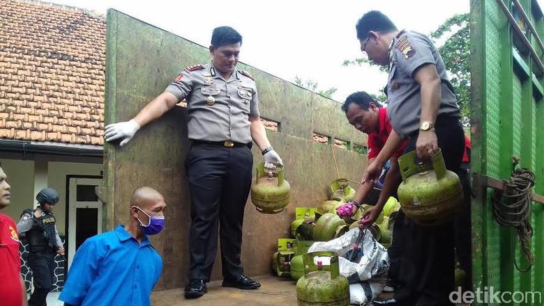 Satgas Mafia Pangan Usut Perdagangan Elpiji Ilegal di Karanganyar