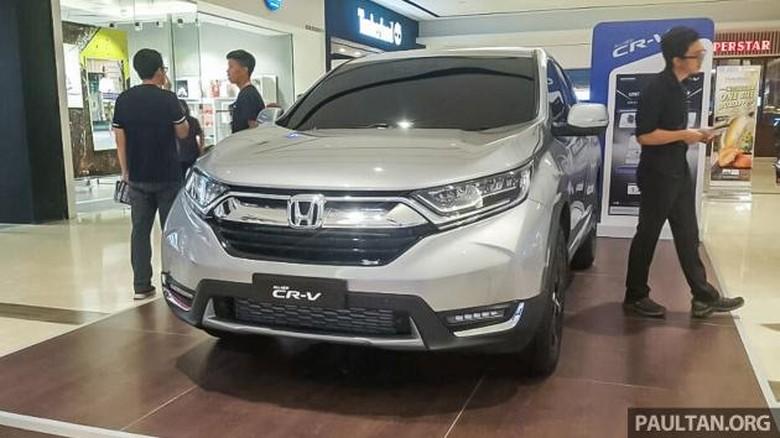 Malaysia Tak Butuh Honda CR-V 7 Penumpang