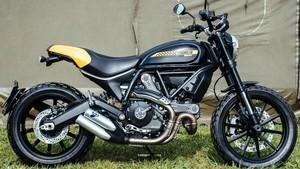 Tampang Terbaru Ducati Scrambler Mach 2.0