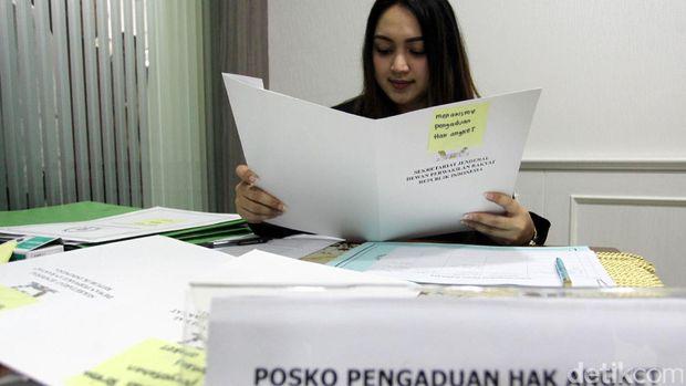 Posko pengaduan Pansus Angket KPK /