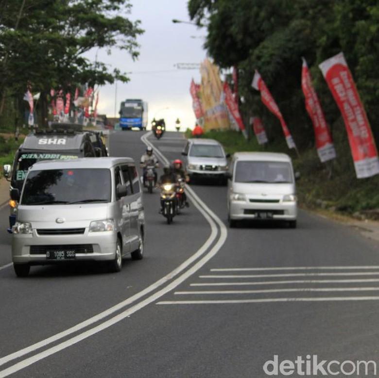 H-6 Lebaran, 30 Ribu Lebih Kendaraan Lintasi Nagreg