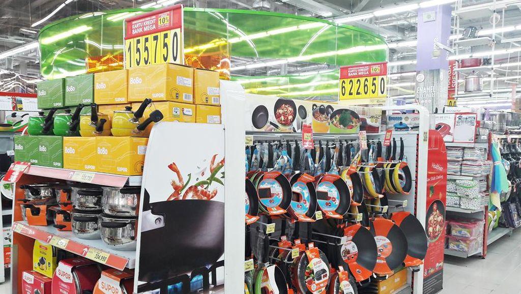 Transmart dan Carrefour Hadirkan Diskon Sampai 50% Peralatan Masak