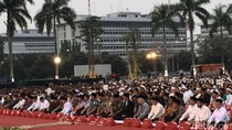 Jokowi Buka Bersama dengan Panglima dan Prajurit TNI