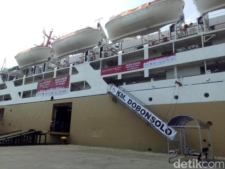 971 Orang Ikut Mudik Gratis dari Pelabuhan Tanjung Priok