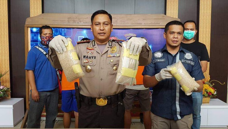 Polisi Tangkap 3 Pengedar Narkoba, Sita 3 Kg Sabu