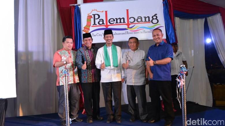 Foto: Peluncuran branding baru Palembang (Raja Adil Siregar/detikTravel)