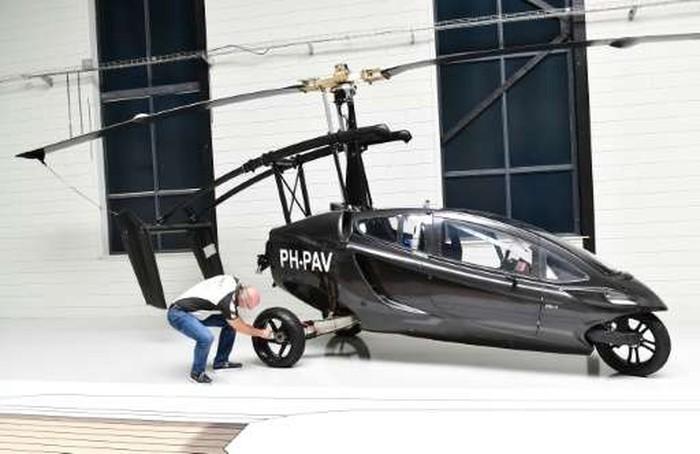 Mobil terbang PAL-V. Foto: istimewa