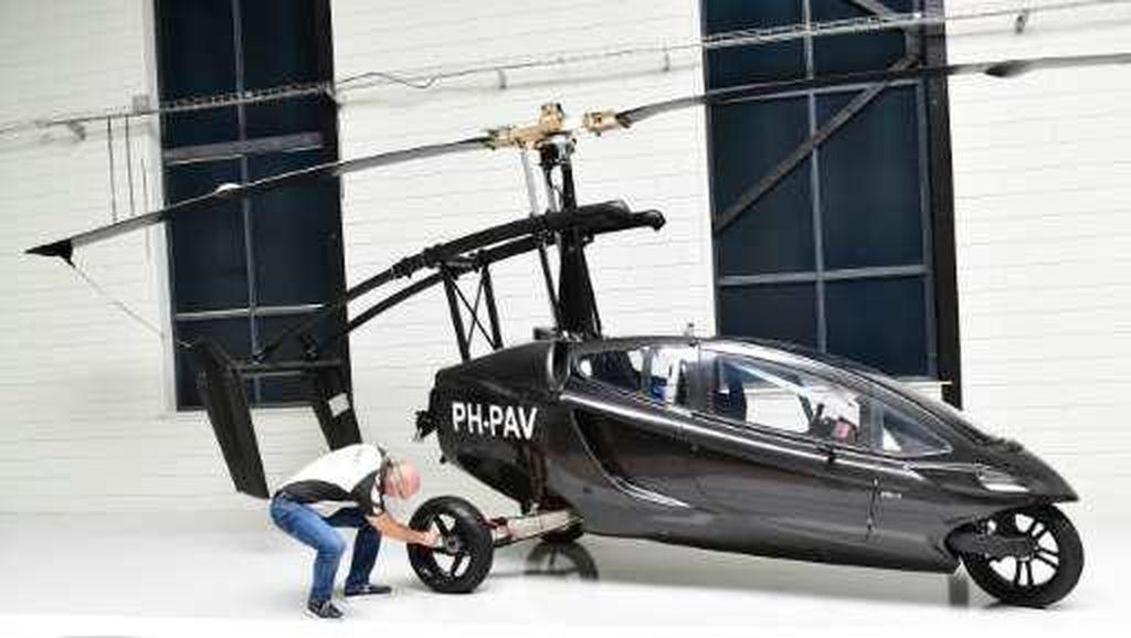 Ini Mobil Terbang Pertama yang Siap Dipasarkan