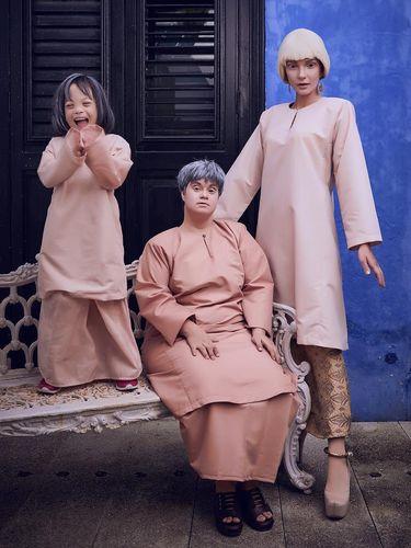 Brand Malaysia Pilih Wanita Down Syndrome untuk Iklan Baju Lebaran