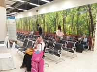 Ruang tunggu kereta bandara (Bonauli/detikTravel)