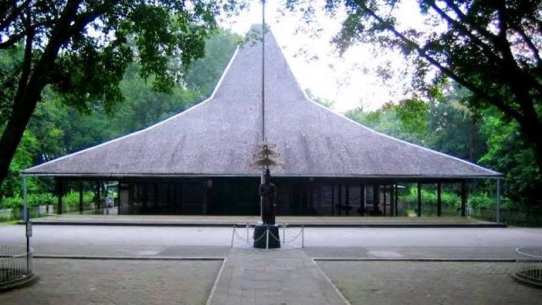 Pendopo Agung Trowulan, destinasi untuk mengenang Mahapatih Gajah Mada (Merza Gamal/dTraveler)