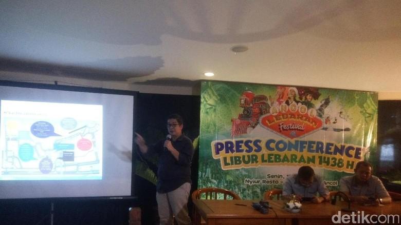 Konferensi press libur lebaran ancol (Syanti/detikTravel)
