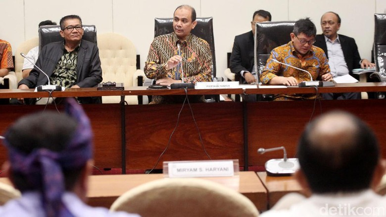 Rapat Pansus Hak Angket KPK Tak Dihadiri Miryam