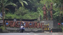 Titik Area Istirahat di Jalur Mudik Cadas Pangeran Sumedang