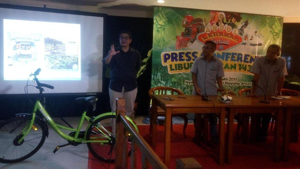 Sambut Lebaran, Ancol Punya Kereta Wisata dan Apps Sepeda