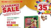 Diskon Spesial 35% untuk Parsel di Transmart dan Carrefour
