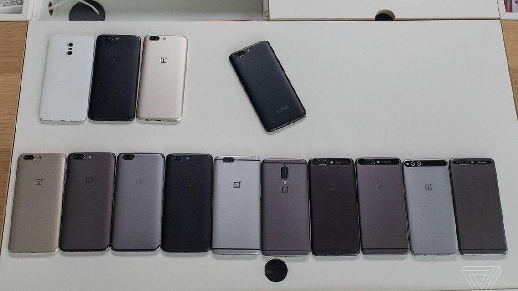 Evolusi Desain OnePlus 5, dari Mirip HTC 10 Sampai iPhone 7