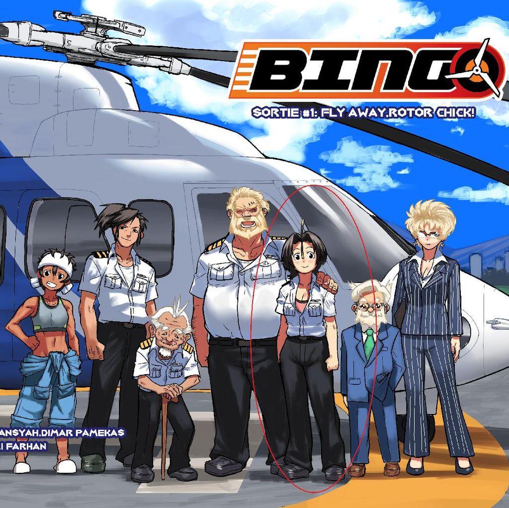 Komik Bingo Ceritakan Kondisi Industri Helikopter Komersial