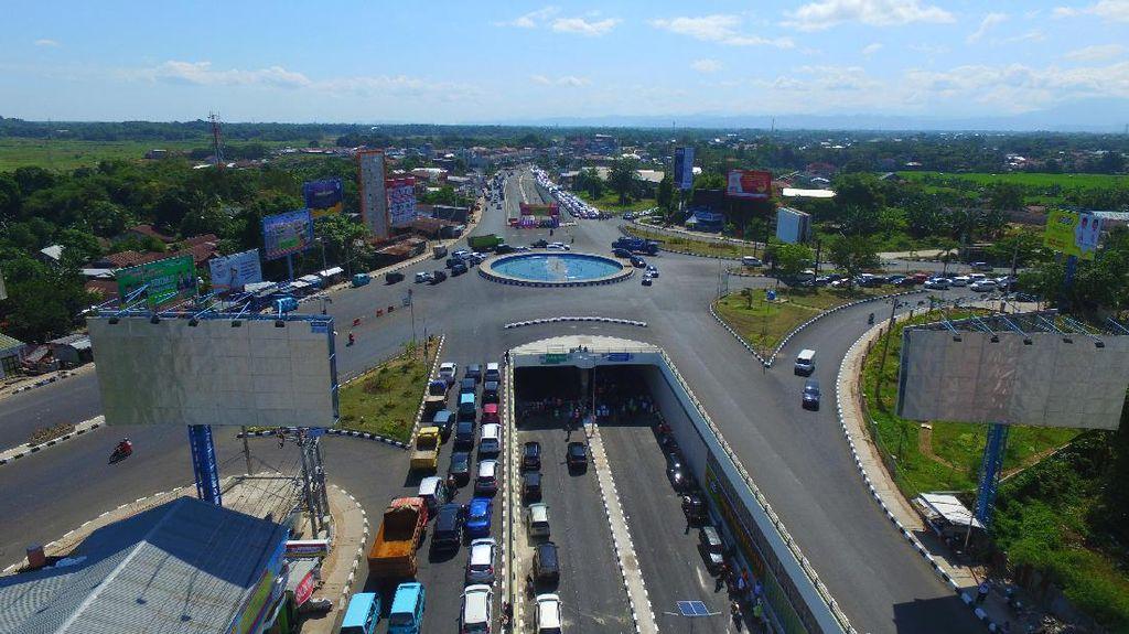 Underpass Simpang Lima Mandai di Makassar Dibuka untuk Mudik