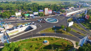 Simpang Lima Mandai yang Siap Digunakan Pemudik