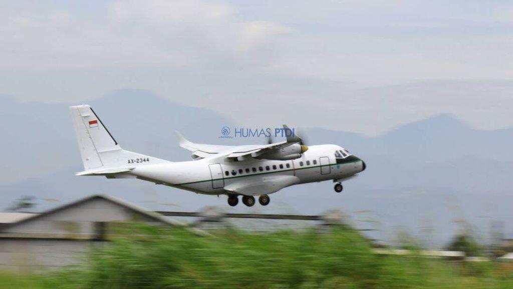 Mengintip Kecanggihan Pesawat CN235 Made in Bandung