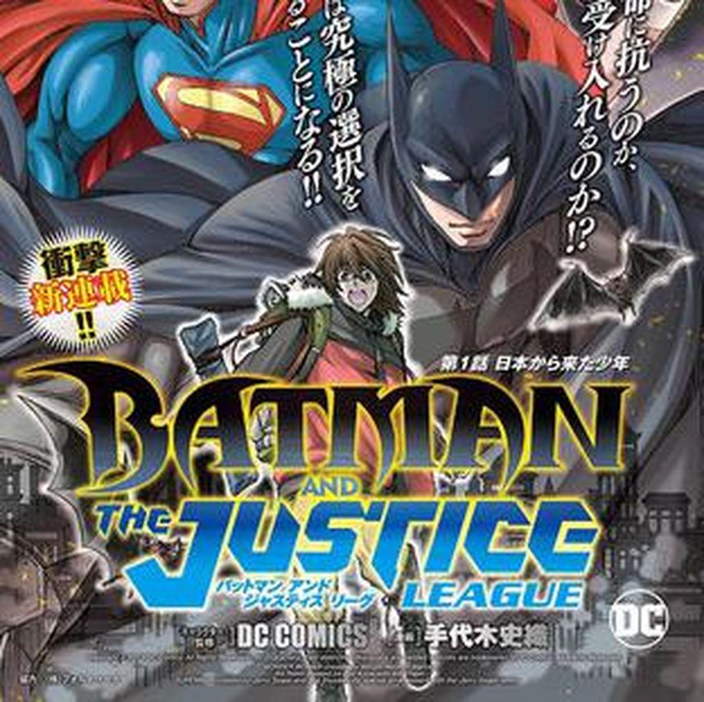 Justice League Hadir dalam Bentuk Manga